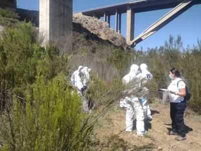 Hasta el lugar del hallazgo concurrió personal especializado de la PDI de Copiapó y Vallenar.