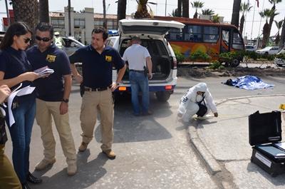 La Fiscalía de Arica trabajó junto a la Brigada de Homicidios de la PDI.