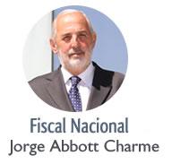 Fiscal Nacional Jorge Abbott Charme
