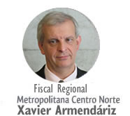 Fiscal Xavier Armendáriz