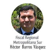 Fiscal Héctor Barros Vásquez