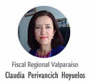 Fiscal Claudia Perivancich Hoyuelos.